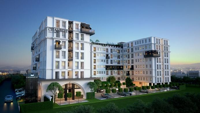 Pre-sale Chambery Condominium หลังมหาวิทยาลัยเกษตรศาสตร์ ศรีราชา พร้อมอยู่