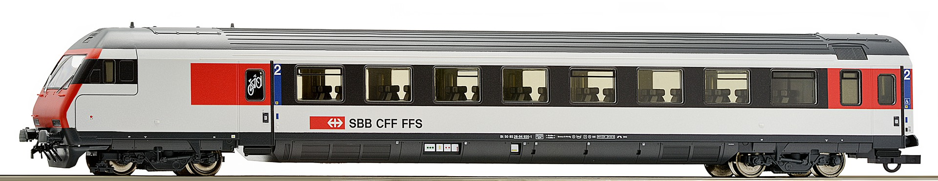 Roco64546 SBB cab car
