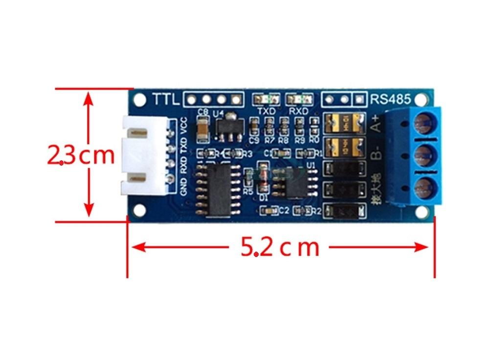 TTL to RS485 Converter 3 3V/5 0V Module For Arduino for Arduino AVR