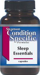 Swanson Vitamins - Sleep Essentials 60 Capsules
