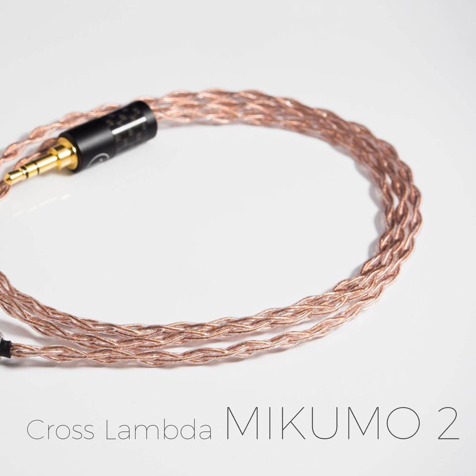 สาย Cross Lambda Mikumo2 (MMCX)