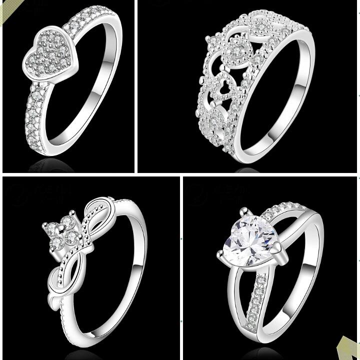 แหวนเพชร CZ พร้อมกล่องสวยหรู ราคาไม่แพง