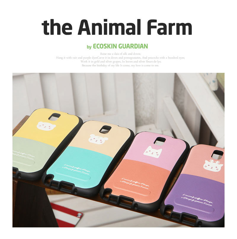 Ecoskin Guardian : The Animal Farm Anti-Shock Cover Case For Galaxy A7 (2016)