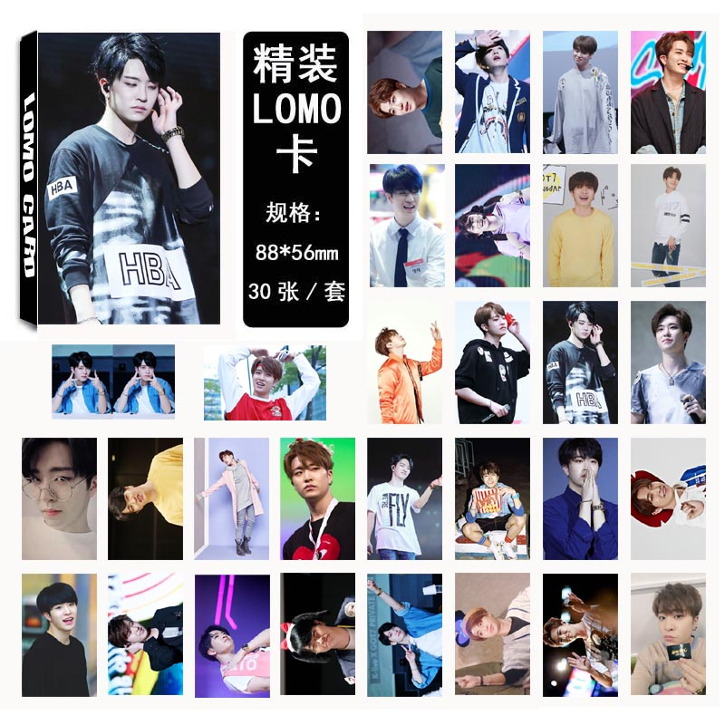 Lomo card set GOT7 - YoungJae (30pc)