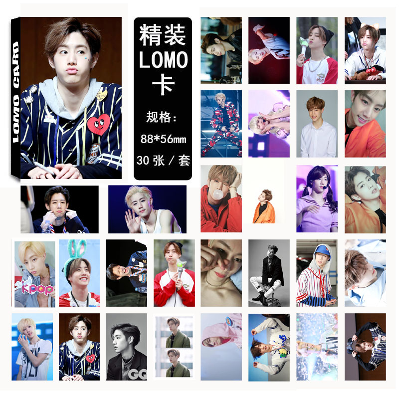 Lomo Card set GOT7 MARK (30pc)