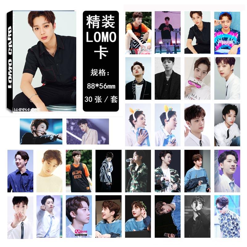Lomo card set WANNA ONE - Guan Lin (30pc)