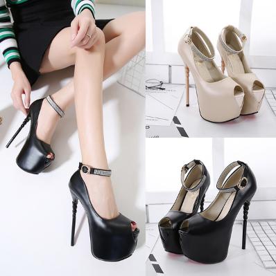 รองเท้าส้นสูง ไซต์ 35-40 สีครีม สีดำ