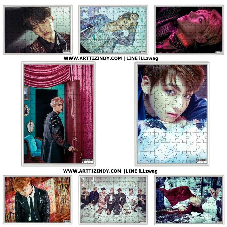 จิ๊กซอ+กรอบ BTS WINGS - ระบุสมาชิก-
