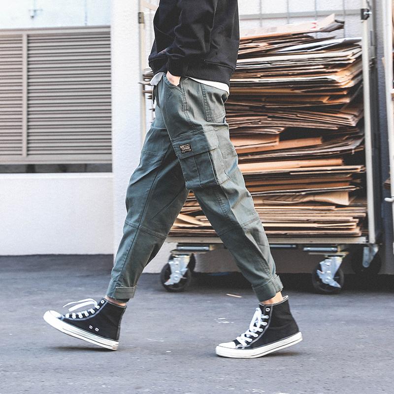 *Pre Order*LMTNZD Jogger Pants กางเกงแฟชั่นชายญี่ปุน/size M,L,XL,XXL