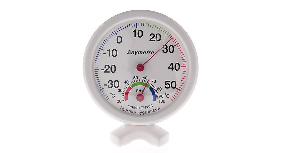 เครื่องวัดอุณหภูมิและความชื้นอนาล็อก