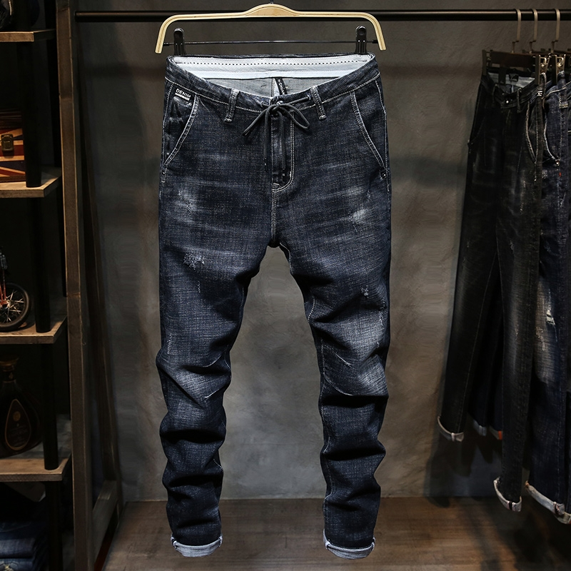*Pre Order*Denim feet pants กางเกงยีนส์ทรงกระบอกเล็ก size 28-38