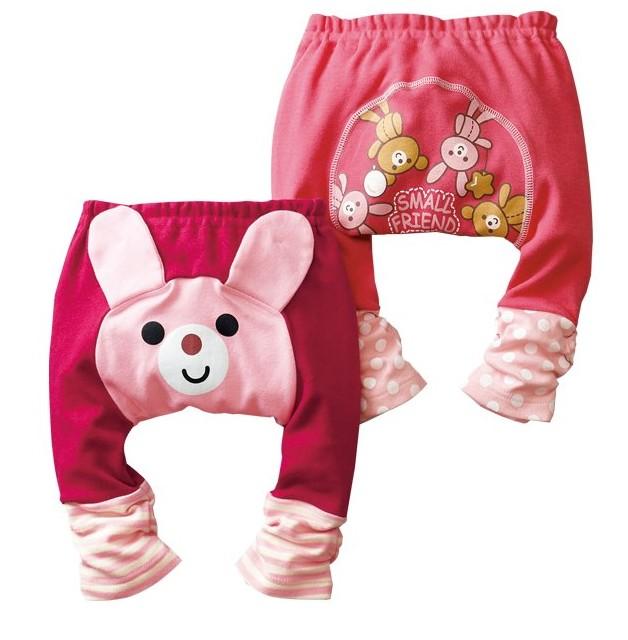 กางเกงขาสามส่วน ลายสัตว์น้อย III