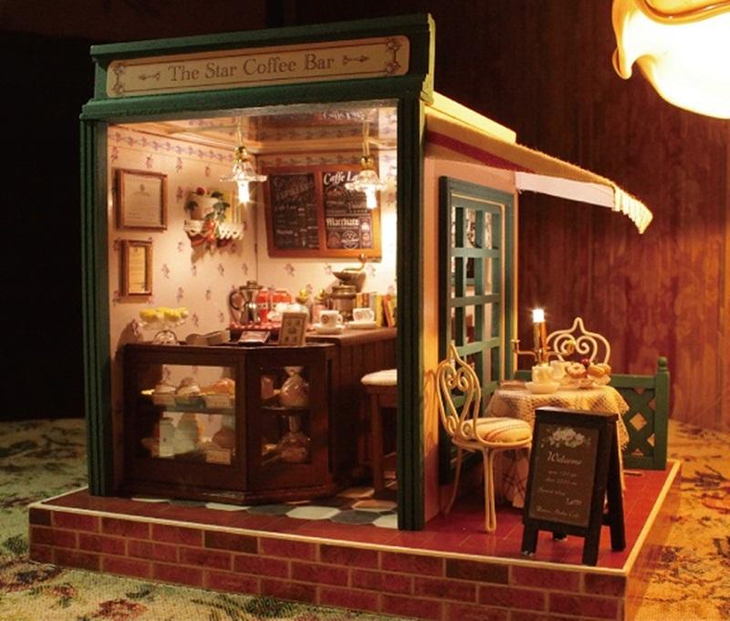 ฉาก DIY The Star Coffee Bar.