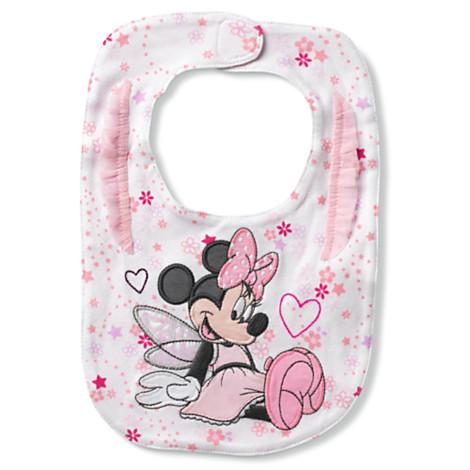 Z Minnie Mouse Bib for Baby