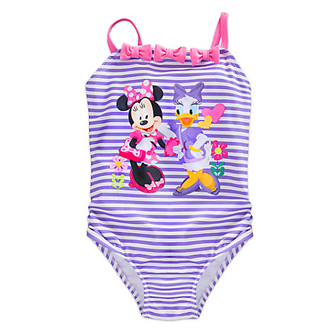 Minnie Mouse Happy Helpers Swimsuit for Girls from Disney USA ของแท้100% นำเข้า จากอเมริกา