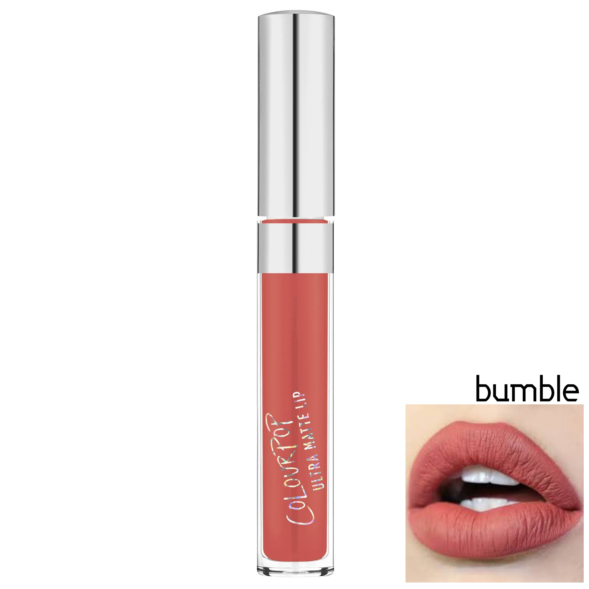 **พร้อมส่ง** + ลด 30 %COLOURPOP ULTRA SATIN LIQUID LIPSTICK สี Bumble