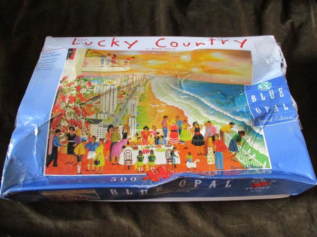 จิ๊กซอว์ 500 ชิ้น the lucky country