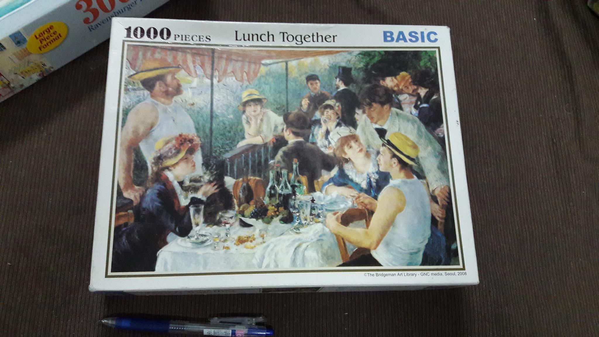 จิีกซอว์ 1,000 ชิ้น lunch together