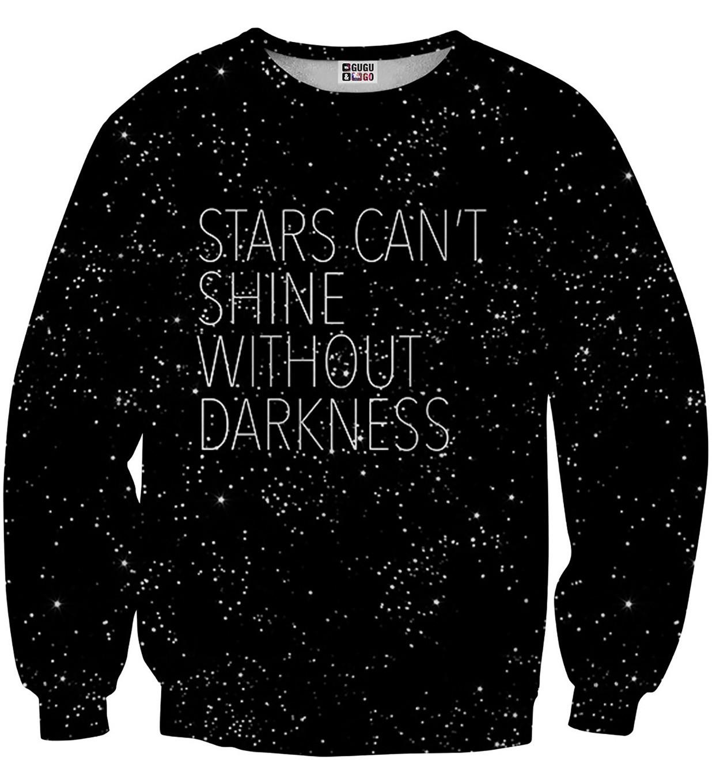Pre-Order เสื้อยืดพิมพ์ลาย MR.GUGU & Miss GO : STARS SWEATER