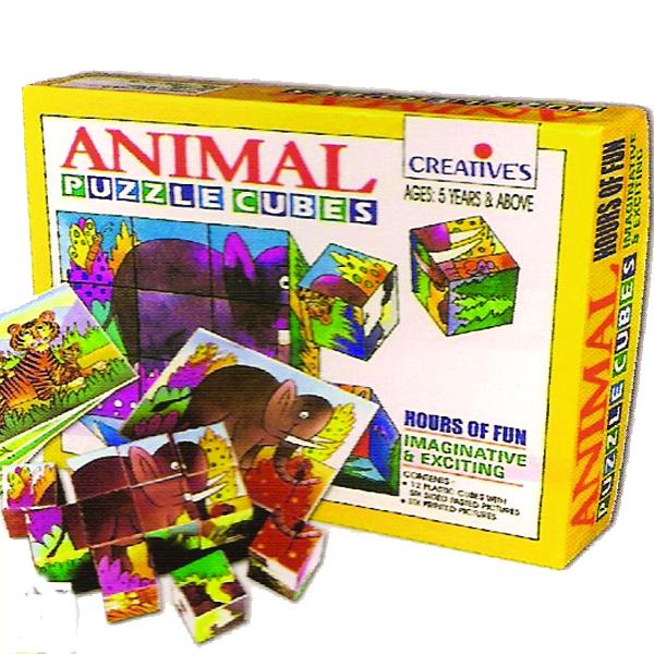 ลูกบาศก์แสนสนุก (Animal Puzzle Cubes)