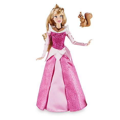 Aurora Classic Doll with Squirrel Figure - 12'' ของแท้ นำเข้าจากอเมริกา