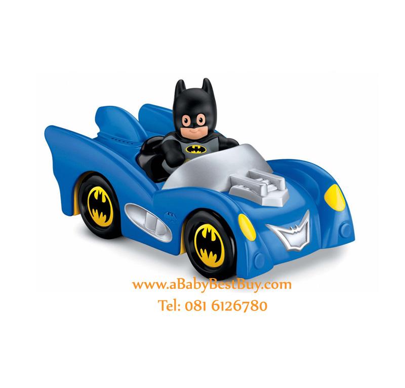 zFisher-Price Little People DC Super Friends Batmobile (Bat Man) นำเข้าจากอเมริกา (พร้อมส่ง)