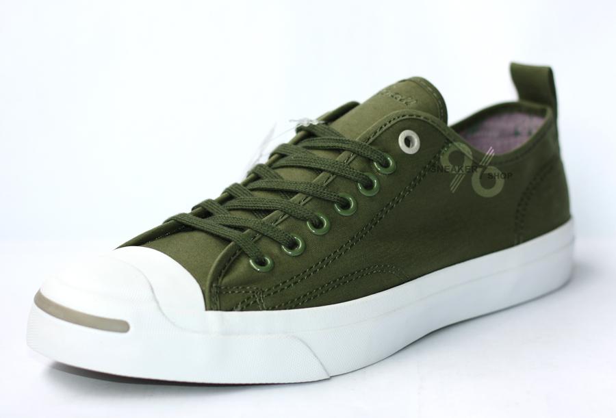 รองเท้า Converse Jack Purcell Hancock Vulcanised Article สีเขียวขี้ม้า ผู้ชาย ผู้หญิง Shoes Size 40-44 พร้อมกล่อง