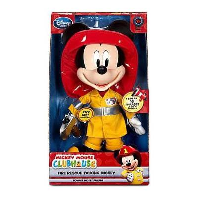 ฮ Mickey Mouse Club House Fire Rescue Talking Mickey.