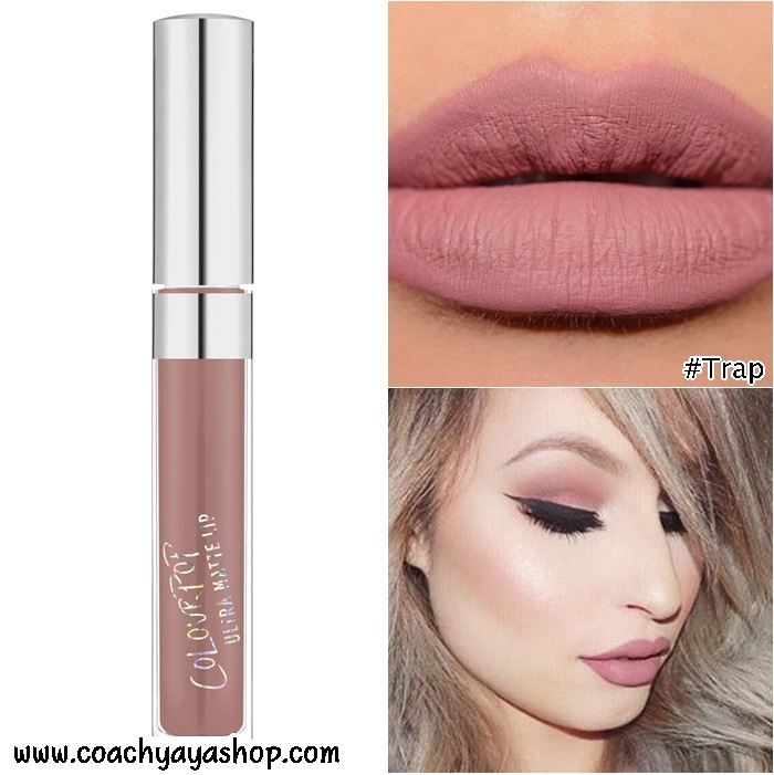**พร้อมส่ง + ลด 30 %** COLOURPOP ULTRA SATIN LIQUID LIPSTICK สี Trap