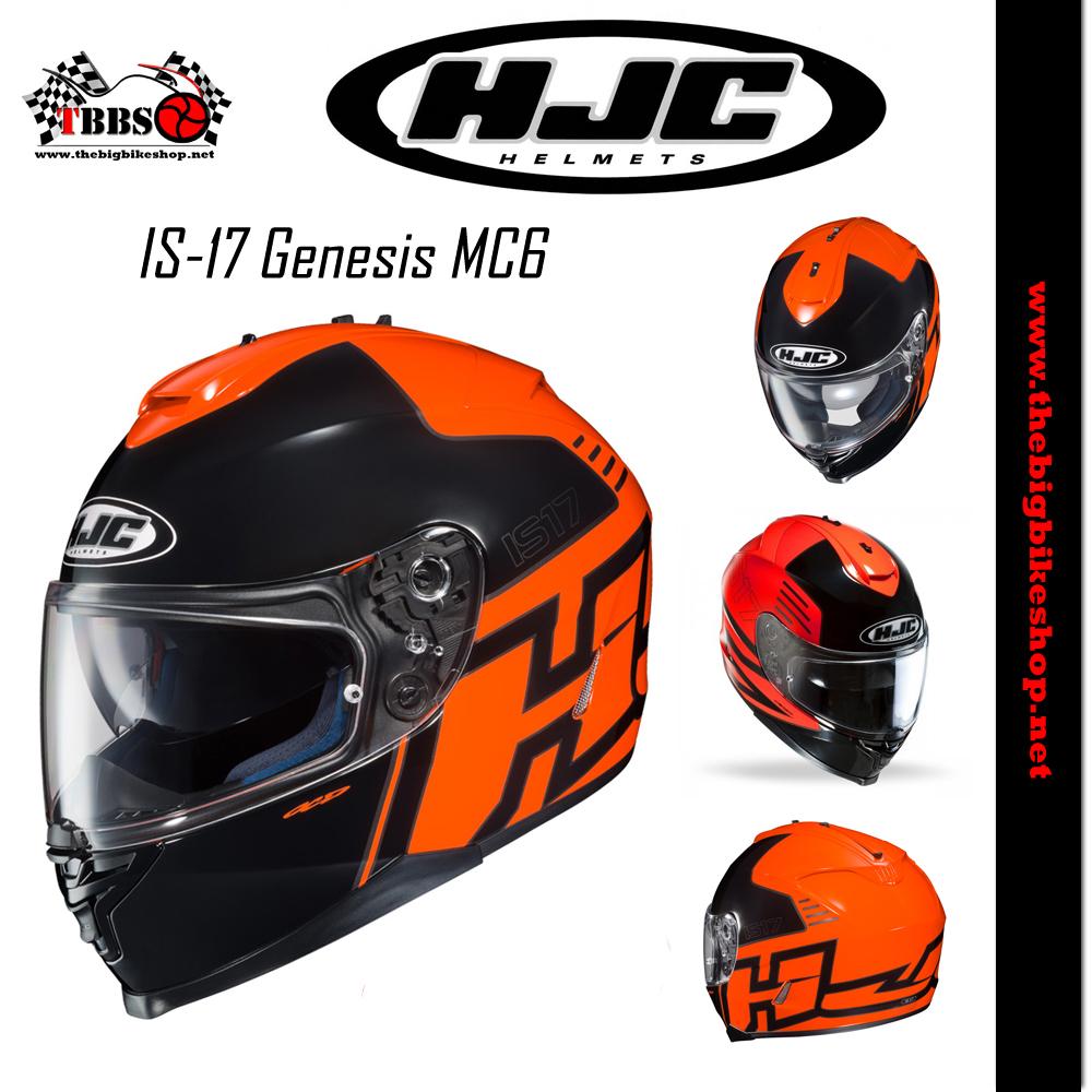 หมวกกันน็อค HJC IS-17 Genesis