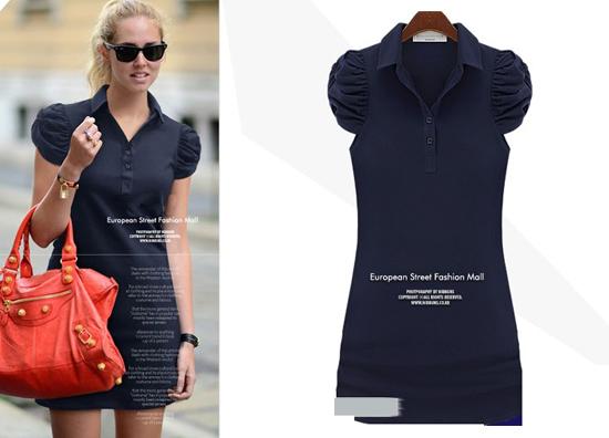 ++เสื้อผ้าไซส์ใหญ่++Qian Yi * Pre-Order* ชุดเดรสเกาหลีไซส์ใหญ่ผ้าฝ้ายสีดำเข้ารูปแต่งแขนน่ารักมากค่ะ