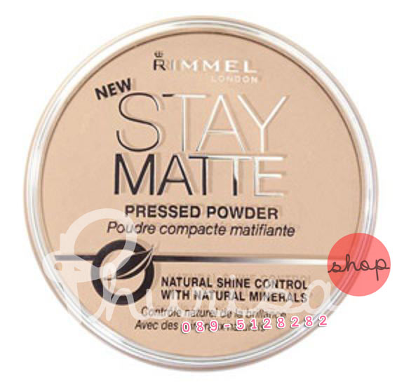 RIMMEL STAY MATTE PRESSED POWDER (LONDON)