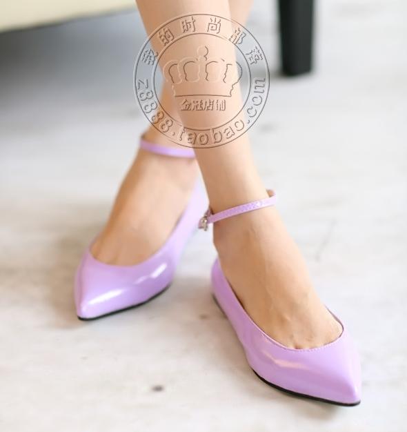 Pre Order - รองเท้าแฟชั่นเกาหลี ปลายแหลม นำเทรน