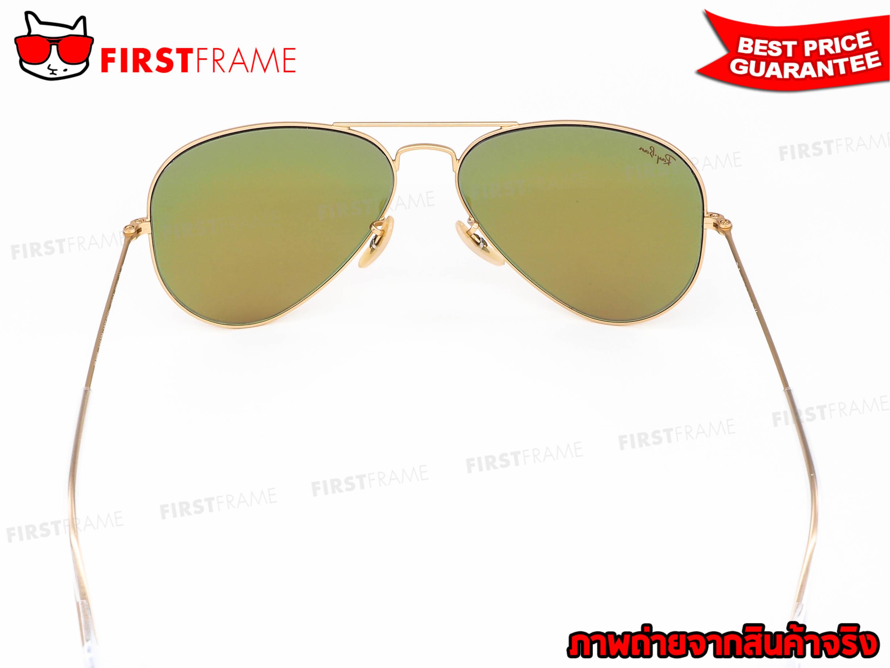 แว่นกันแดด RayBan RB3025 112/4T 4
