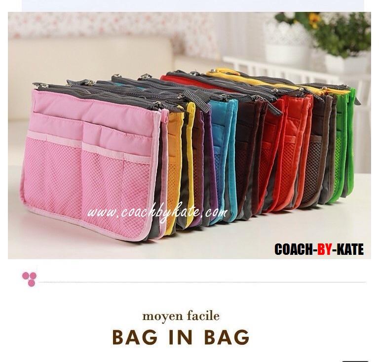 สินค้าพร้อมส่งในไทย : กระเป๋าจัดระเบียบ Chou bag in bag
