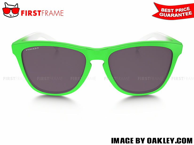 OAKLEY OO9245-37 FROGSKINS GREEN FADE EDITION (ASIA FIT) 2