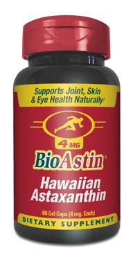 สาหร่ายแดง ไบโอแอสติน แอสตาแซนธิน (BIOASTIN ASTAXANTHIN) 4 mg EMSฟรี นำเข้าจากรัฐฮาวาย USA