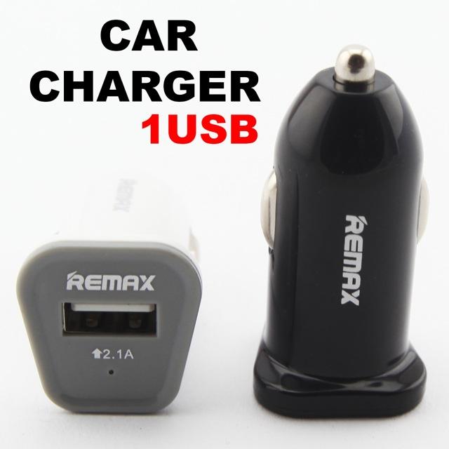 ที่ชาร์จในรถ REMAX 1 USB ราคา 85 บาท ปกติ 240 บาท