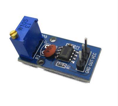 NE555 Pulse Generator Module (Adjustable Frequency)