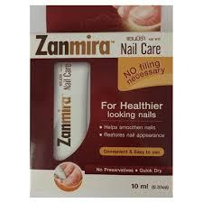 Zanmira Nail Care 10 g แซนมิร่า เนล แคร์ ผลิตภัณฑ์ Solution Lacquer สำหรับทาบำรุง และฟื้นฟูเล็บโดยเฉพาะ ให้ผิวเล็บนุ่มนวล เรียบเนียน