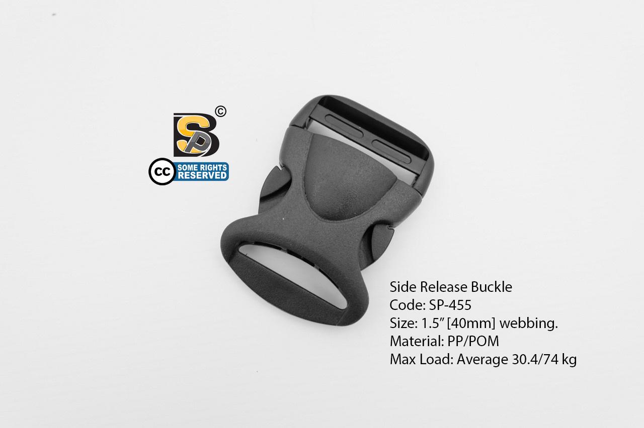 """ก้ามปู 1.5"""" เต่า (แข็ง) / Side Release Buckle 1.5"""""""