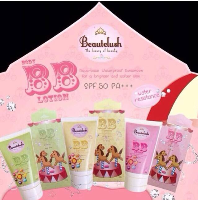 Beautelush body BB lotion SPF 50 PA+++