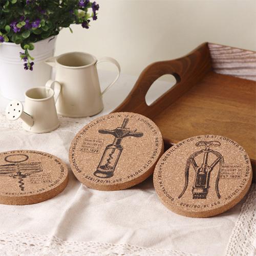 Vintage Cork Coaster