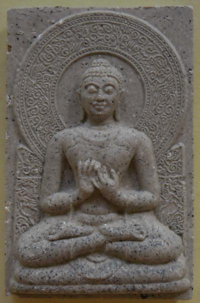 พระพุทธงานฉลอง พุทธชยันตี 2600 ปี แห่งการตรัสรู้ วัดยานนาวา