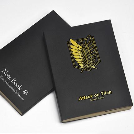 สมุดบันทึก Attack On Titan ผ่าพิภพไททัน (มีให้เลือก 2 แบบ)