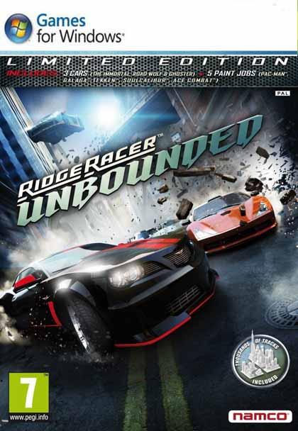 Ridge Racer Unbounded ( 1 DVD )