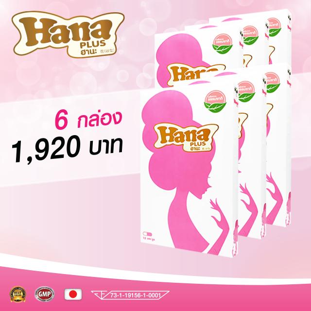 HANA ฮานะ 6 กล่องๆ ละ 320 บาท