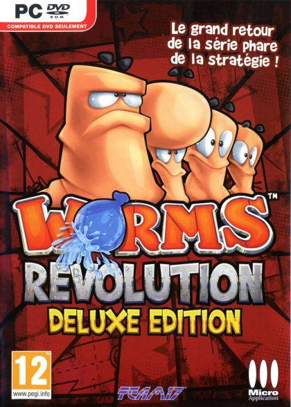 Worms Revolution ( 1 DVD )