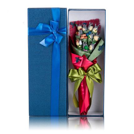 ช่อดอกไม้โมเดลการ์ตูนโทโทโร่(แบบที่ 2)