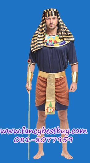 ชุดแฟนซีผู้ชาย ชุดประจำชาติอียิปต์ Egyptian Soldier ขนาดฟรีไซด์